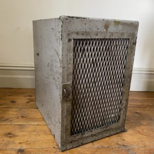 Industrial Perforated Metal Cabinet